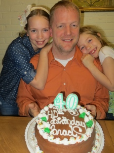 40th Birthday Boy and the girls